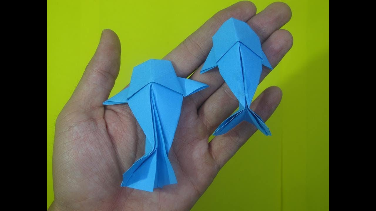 Easy Origami Fish - Origami for Kids - Easy Peasy and Fun | 720x1280